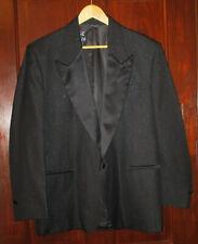 Vintage Mens Black Sparkle Tuxedo Jacket 42R Formal Wear Collection by Raffinati