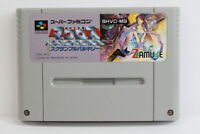 Macross Scramble Valkyrie SFC Nintendo Super Famicom SNES Japan Import A VG