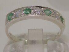 Emerald Eternity Anniversary Fine Rings