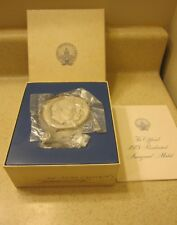 1973 Richard Nixon Official Inauguration Committee Sterling Silver Medal F.M.