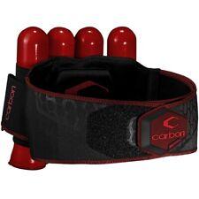 Carbon CC Harness Paintball Battlepack 4+5 (rot)