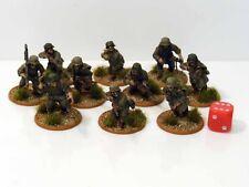 28 mm cadena de comando de acción Perno Alemán Panzergrenadiers Pintada 10 figuras R2