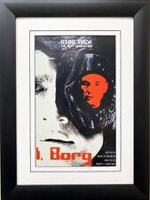 "Star Trek: The Next Generation"" I,Borg"" Trekkie CUSTOM FRAMED ART"