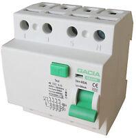 Fehlerstromschutzschalter SR6HE 4P 40A/30mA AC FI Schalter Schutzschalter