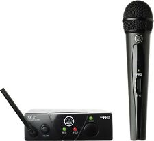 AKG Pro Audio WMS40MINI Vocal Set BD US25C Wireless Microphone System