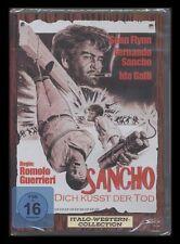 DVD SANCHO - DICH KÜSST DER TOD - ITALO-WESTERN - FERNANDO SANCHO+DANIEL MARTIN