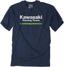 Factory Effex Kawasaki Stripes T-Shirt  - Mens Tee
