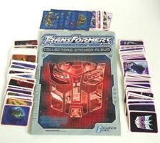 Transformers Generation One Empty Sticker Album With Loose Stickers