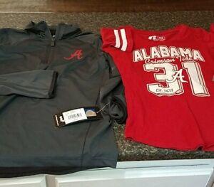 Alabama Crimson Tide Youth Shirt ROLL TIDE lot of 2 shirts
