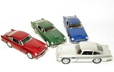 x4 1/38 Scale Aston Martin DB5 Collection    Friction Motor & Opening Doors