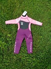 Girls' Full Wetsuit 2mm Neoprene Diving Suit UV Resistant High Elasticity small