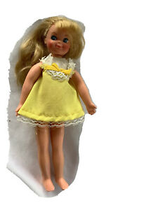 Vintage Tutti Doll Barbie's Tiny Sister 1965 by Mattel Blonde Bendable