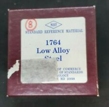 Nist Standard Reference Material 1764 Low Alloy Steel