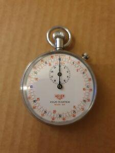 Vintage Heuer stopwatch, film master very rare