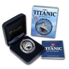 100th Anniversary of RMS TITANIC White Star Line 2012 1 Oz Silver Proof $1 Coin