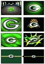 Green Bay Packer Stationary Note Cards Thank You Blank Fold over Cards