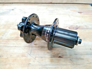 Chris King R45D Rear 6 Bolt Road Hub, 24h, Gloss Black, 135mm QR Axle BNIB 11spd