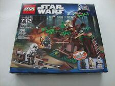 LEGO 7956 Star Wars EWOK ATTACK Tokkat Logray Scout Trooper  - NEW & SEALED