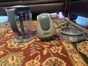 Ninja 400-Watt Blender/Food Processor for Frozen Blending and Food Prep, Pitcher
