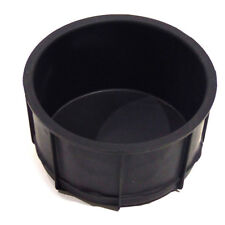 OEM NEW Rear Console Cup Holder Insert Liner Black Rubber F-150 2L7Z-7813562-AAA