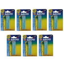 SANYO KF-A650 Rechargacell Slim Battery 650mAh 1000 Cycles 7 Pack Made in Japan