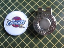 GOLF / Cleveland Cavaliers Logo Golf Ball Marker/with Magnet Hat Clip New!!
