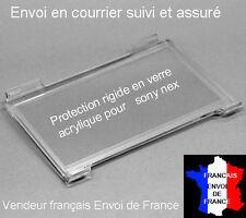 POUR NEX-3 NEX-5 :PROTECTION  VERRE ACRYLIQUE HAUT DE GAMME POUR ECRAN LCD