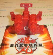 Bakugan Twin Destructor Red Copper Battle Gear Gundalian DNA 100G & cards
