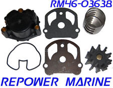Water Pump Kit for OMC Cobra, Impeller Kit replaces #: 984461, 984744
