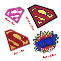 Superman Movies Cartoon uniform badges Iron or Sew on Embroidered Patch
