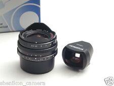New Voigtlander SUPER WIDE HELIAR 15mm F4.5 Black Leica Screw Mount Viewfinder