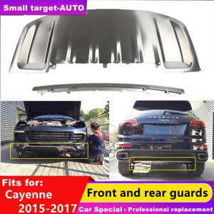 fits for Porsche Cayenne 2015 2016 2017  bumper board guard skid bar