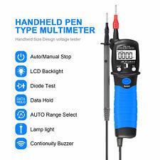 Holdpeak Digital Multimeter Dc Voltage Tester Pen Type Resistance Datahold Hp 38