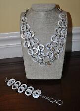 Premier Designs Jewelry Set of 2 Sandy Necklace and Bracelet BRAND NEW