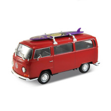 1:24 Scale 1972 Volkswagen BUS T2 NEX Models Welly Collection Diecast