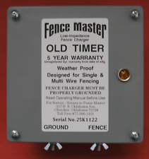 NEW Fence Master Electric Old Timer Fence Charger, Energizer, Fencer