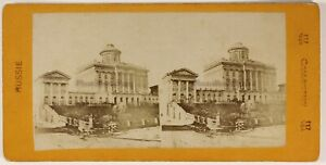 Moscou Musée Russie Россия Photo Stereo Vintage Albumine c1870