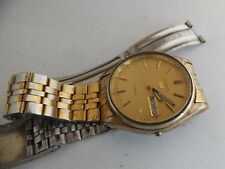 a vintage gents seiko 5 automatic watch