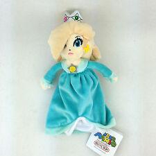 "Super Mario Bros Princess Rosalina Plush Toy Stuffed Animal Blue New 8"""