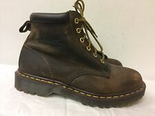 Dr Martens brown lace up ankle boots U.K. 8 Unisex W 10 M 9
