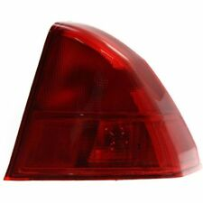 For Civic 01-02, Passenger Side, Outer Tail Light, Red Lens