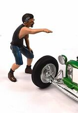 DEREK HOT RODDER FIGURE AMERICAN DIORAMA 24027 1:24 ACCESSORY CAR NOT INCLUDED