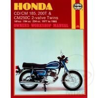 Honda CM 250 C Custom 1982-1983 Haynes Service Repair Manual 0572