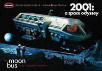 Moebius Moon Bus 2001 A Space Odyssey model kit new 1:55 scale 2001-1