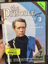 The Prisoner Volume 3 (Eps 9-12) ex-rental region 4 DVD (60s tv series) rare