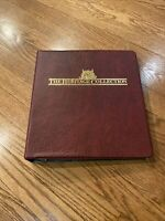 THE HERITAGE COLLECTION US COMMEMORATIVE 1847-2001 Stamp Binder New #1