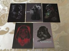 2016 Topps Star Wars Rogue One Series 1 Darth Vader Continuity Set 5 Cards 6-10