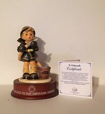 """M.I. HUMMEL #2030 -  """"FIRE FIGHTER"""" - MIB - SIGNED BY ULRICH TENDERA"""