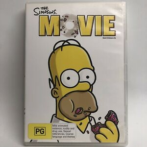 The Simpsons Movie - DVD - AusPost with Tracking
