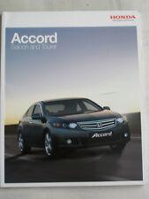 Honda Accord Saloon & Tourer range brochure Mar 2010 Irish market